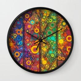 Bubble Mosaic Wall Clock