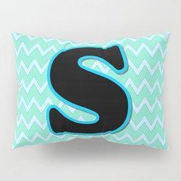 Letter S Pillow Sham