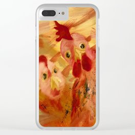 Who's That? Clear iPhone Case
