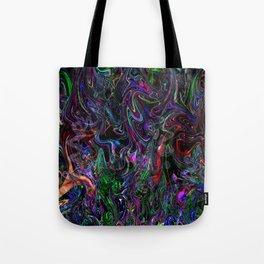 Fluorescent Fox Tote Bag