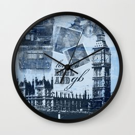 Anglophile Love Wall Clock