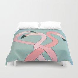 Flamingo Flamingo Flamingo Duvet Cover