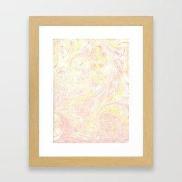 ebru Framed Art Print