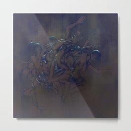 Sleep Paralysis 37, Metal Plate Metal Print
