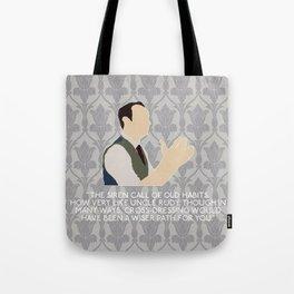 His Last Vow - Mycroft Holmes Tote Bag