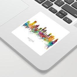 Houston Texas Skyline Sticker