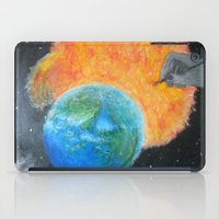 inception iPad Cases featuring Painting Inception by Liz Mahoney