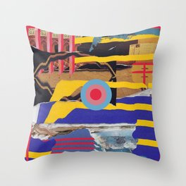 pulled muscle Throw Pillow
