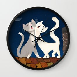 Moonlight Duet Wall Clock