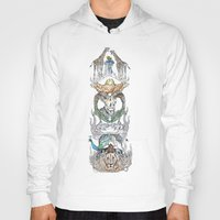 wild things Hoodies featuring Wild Things by Carley Lee