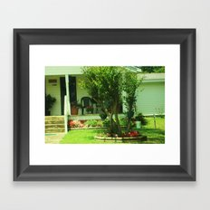 yard beauty Framed Art Print