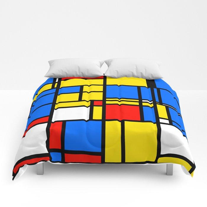 Mondrian Style Comforters