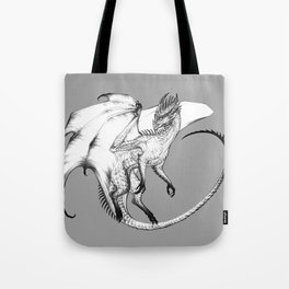 Guardian Dragon Tote Bag