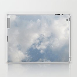 Window Curtains - Morning Fresh Laptop & iPad Skin