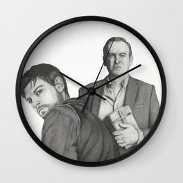 Kyle and the Rev Wall Clock