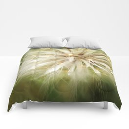 Flower of wishes Comforters
