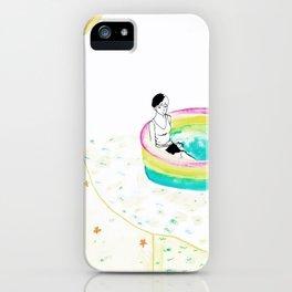 float. iPhone Case
