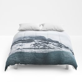 Bow Lake Alberta Comforters