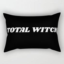 total witch Rectangular Pillow