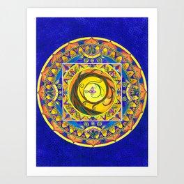 Tree  of Life Mandala Art Print