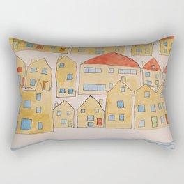 this town Rectangular Pillow