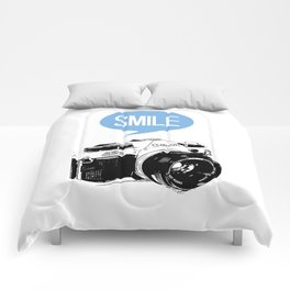 Vintage Canon Camera, Smile Comforters
