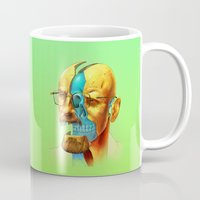 breaking Mugs featuring Breaking Bad / Broken Bad by Mirco