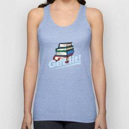 Get Lit Books Unisex Tank Top