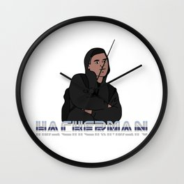 Hackerman Wall Clock