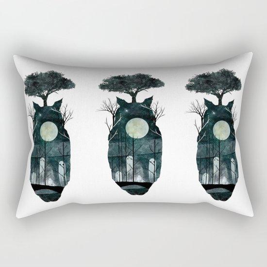 March of the Forest Spirits Rectangular Pillow