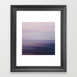 Blured Sea Framed Art Print