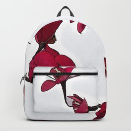 Dainty Red Double Stem Backpack