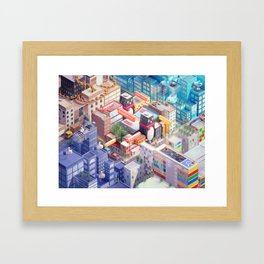 Tencent Framed Art Print