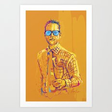 Digital Drawing #24 Art Print