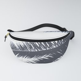 Palm Tree leaves abstract III Fanny Pack