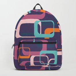 Mid Century Modern Swanky Pattern Backpack