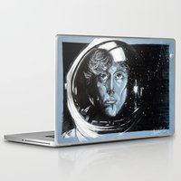ripley Laptop & iPad Skins featuring No one can hear you scream in space by Clayton Young