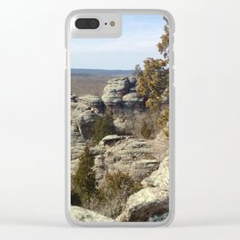 Garden of the gods Southern Illinois Clear iPhone Case