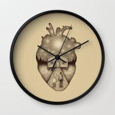 Finally Home Wall Clock