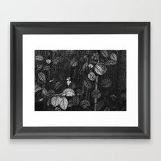 Leaves & Branches Framed Art Print