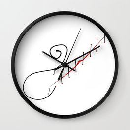 incurable wound Wall Clock