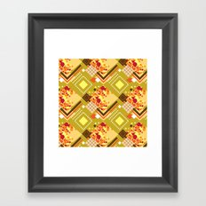 Mustard Framed Art Print