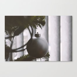 Silent Christmas Canvas Print