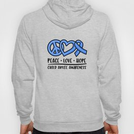 Child Abuse Prevention, awareness Hoody