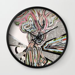 Travel In Time Wall Clock
