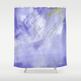 Original Abstract Duvet Covers by Mackin signed Shower Curtain