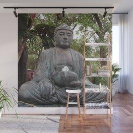 Buddha Statue Wall Mural
