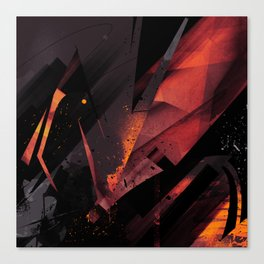 S--Abstract Canvas Print