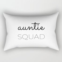 Aunt Squad Aunt Gifts from Niece Aunt, Best Aunt Ever Rectangular Pillow