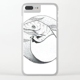 Baby Komodo Clear iPhone Case